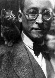 André Gide - autore francese e vincitore del premio Nobel per la letteratura nel 1947