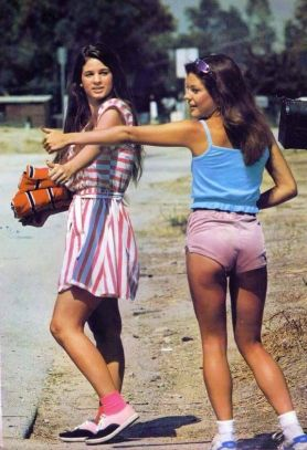 Autostop negli anni 70