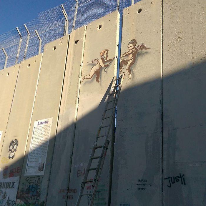 Banksy @Palestine