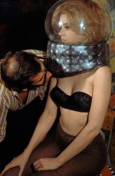 Barbarella, Jane Fonda. Foto di Roger Vadim