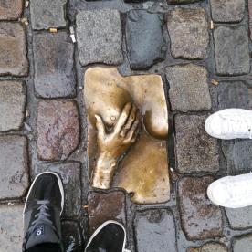 "Boobie brick aka ""trip titty"" in Amsterdam"
