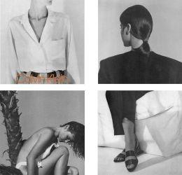 Calvin Klein 1986 primavera / estate campagna di Bruce Weber
