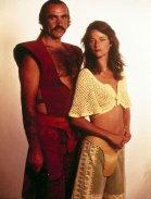 Charlotte Rampling e Sean Connery in Zardoz