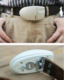 Cintura con mouse portatile