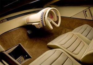 Concept futuristico auto anni 1970-80