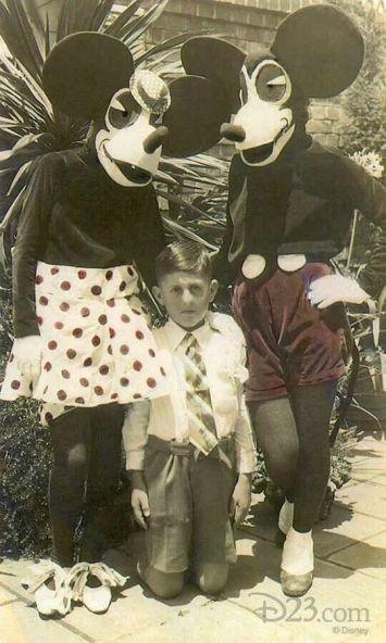 Costumi di Topolino e Minnie, anni '30