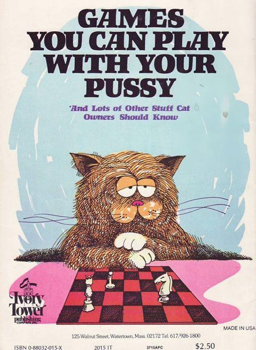 Divertente copertina di libro vintage