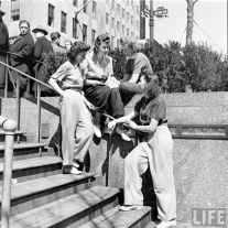 Donne in pantaloni. 1940