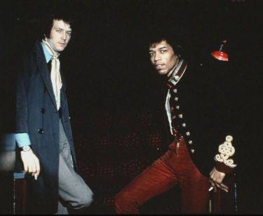 Eric Clapton e Jimi Hendrix, 1967