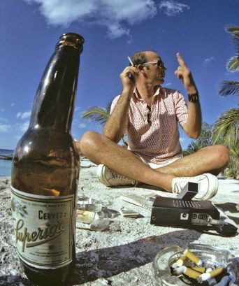Hunter S. Thompson, Mexico, 1974