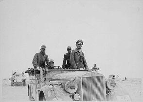 Il generale Erwin Rommel e la 15a divisione Panzer tra Tobruk e Sidi Omar, 1941