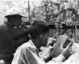 Immagine di guerra del Vietnam da fotografo vietnamita