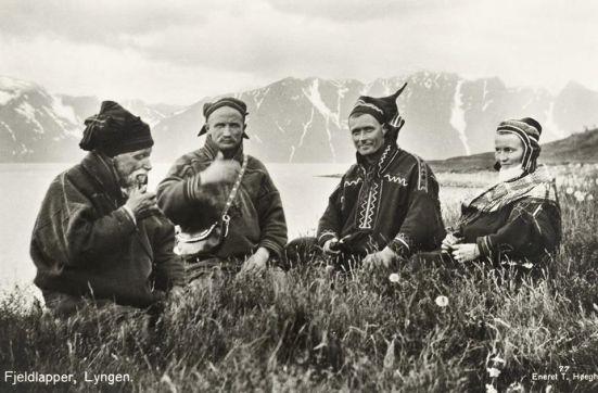 Indigeni scandinavi Sami in Norvegia, 1928