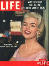 Jayne Mansfield: icona della cultura pop 1956