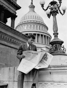 John F. Kennedy a Capitol Hill (1946)