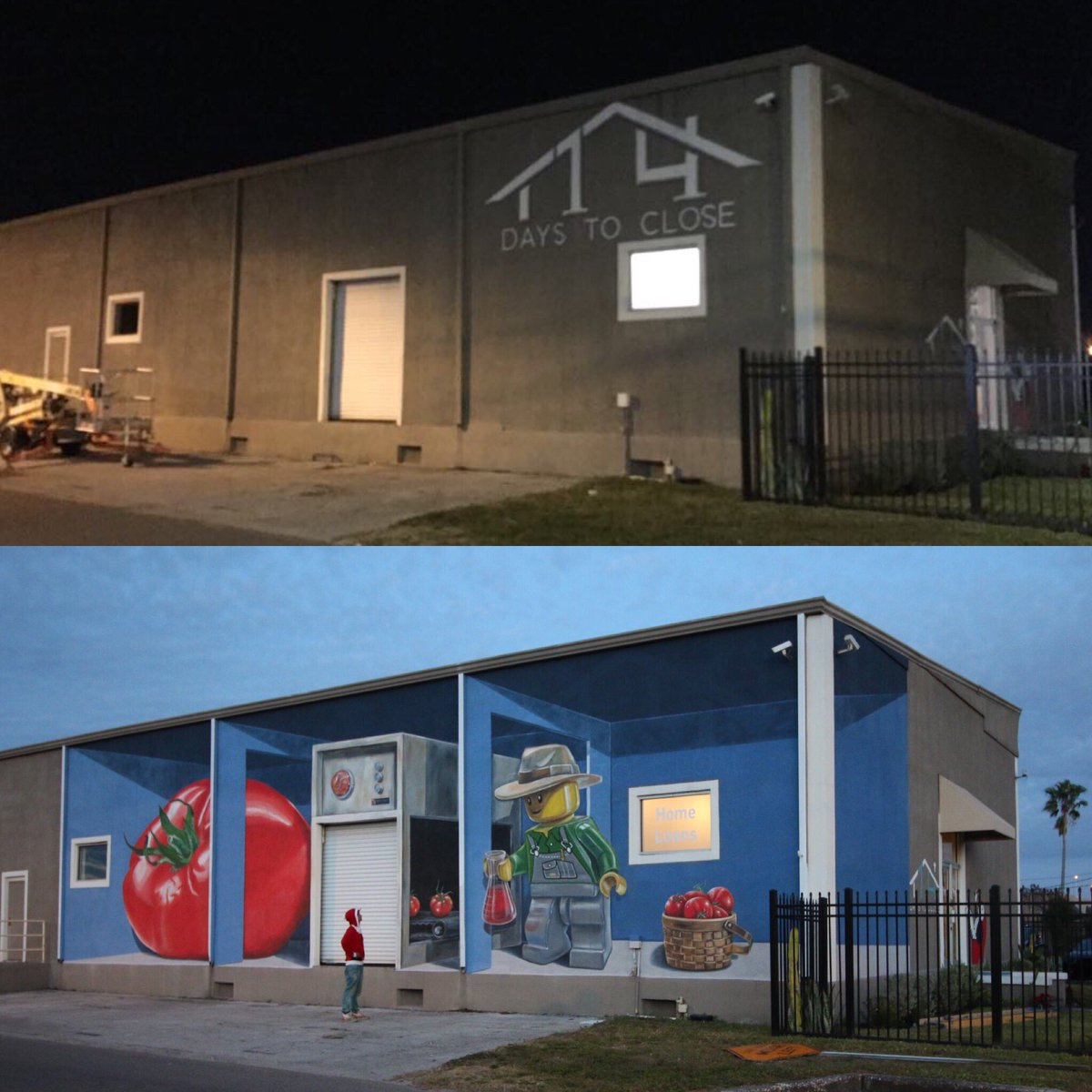 Leon Keer @Tampa, Florida, USA (Before and After)