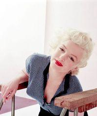 Marilyn Monroe, 1955. Fotografia scattata da Milton Greene
