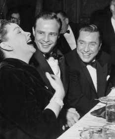 Marlon Brando e Judy Garland