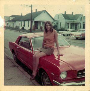 Mustang girl, 1969