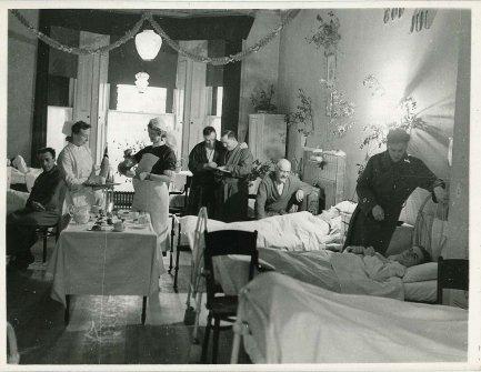 Natale all'ospedale norvegese a Londra durante la seconda guerra mondiale