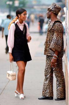 New York fashion, 1969. Fotografia di Vernon Merritt III