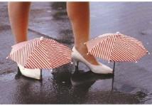 Ombrellini ripara scarpe
