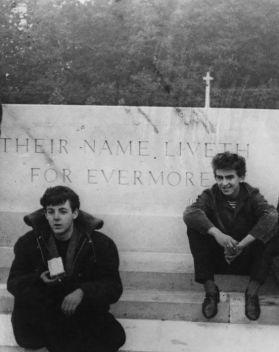 PaulMcCartney e George Harrison, anni 60