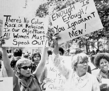 Protesta femminista negli anni '60