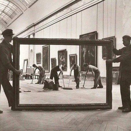 Retour des oeuvres au Louvre - 1946 - Fotografia di Pierre Jahan