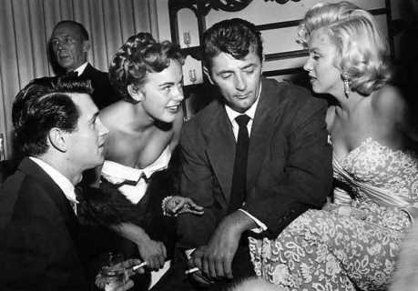Rock Hudson e Marilyn Monroe