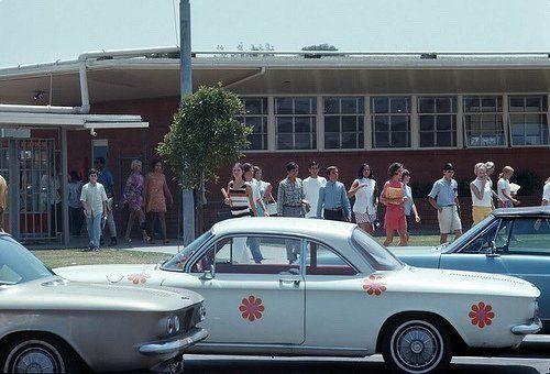 Scuola in California, 1969
