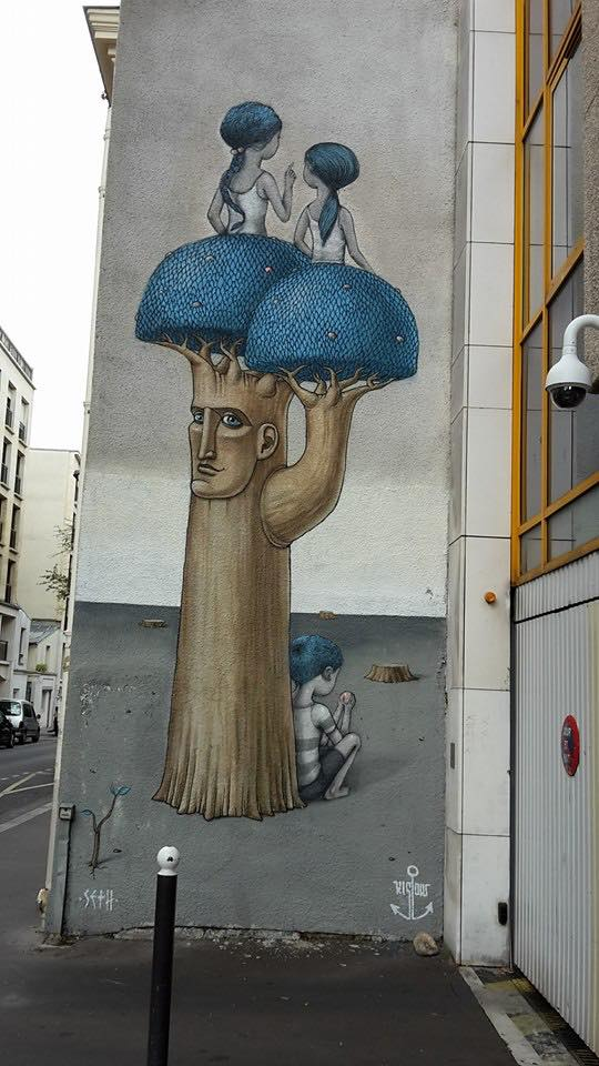 Seth Globepainter @Paris, France