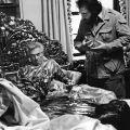 The Godfather – sul set durante la famigerata scena della testa di cavallo