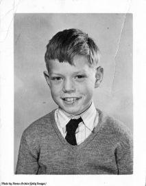 Una foto scolastica di un Mick Jagger di 9 anni alla Wentworth Junior County Primary School nella sua città natale di Dartford, 1951