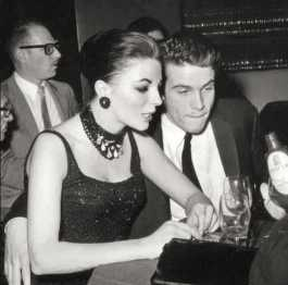Warrren Beatty e Joan Collins
