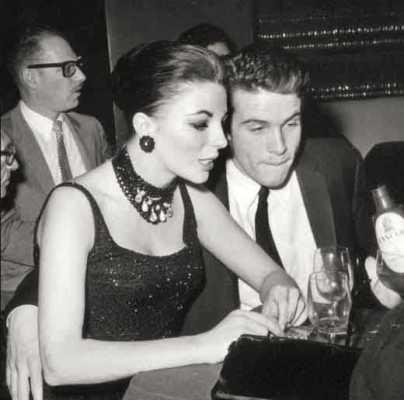 Warrren Beatty e Joan Collins