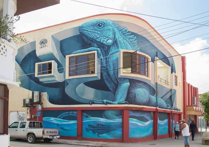 WD Drawing @San Nicolas, Aruba