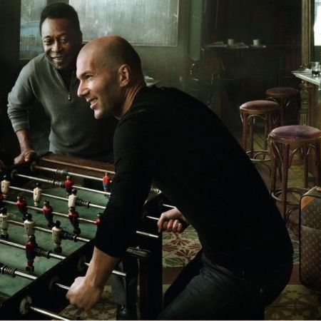 Zidane, Maradona, Pelé per la campagna pubblicitaria Louis Vuitton