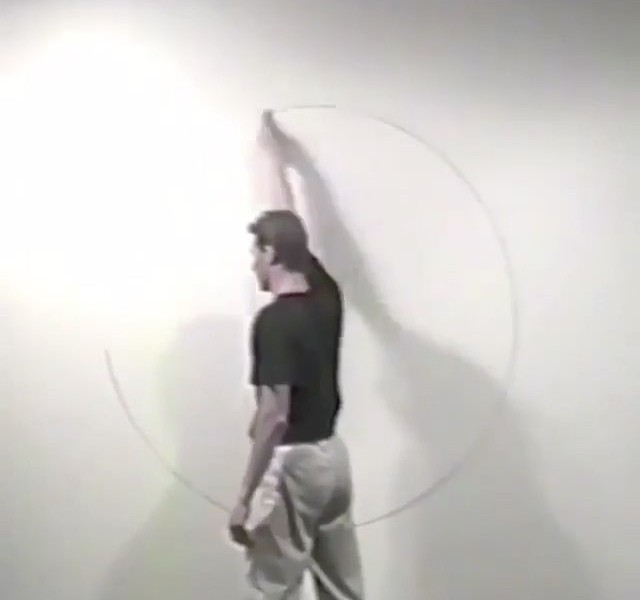 """The circle"" by James Nares"