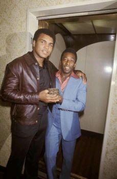 Muhammad Ali e Pelé
