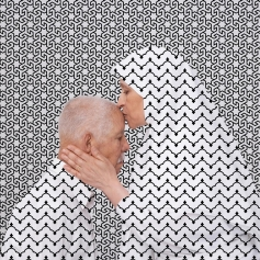 """I'm Sorry / I Forgive You, Sorry Mama"" 2012 by Arwa Abouon al Musée de l'Europe a Bruxelles"
