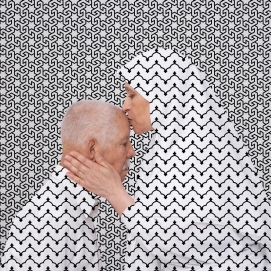 """""""I'm Sorry / I Forgive You, Sorry Mama"""" 2012 by Arwa Abouon al Musée de l'Europe a Bruxelles"""
