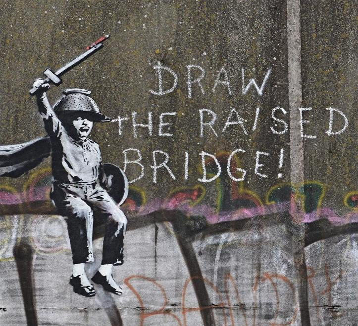 Banksy @Hull, UK
