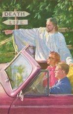 Cartolina cattiva dagli anni '50 - '70