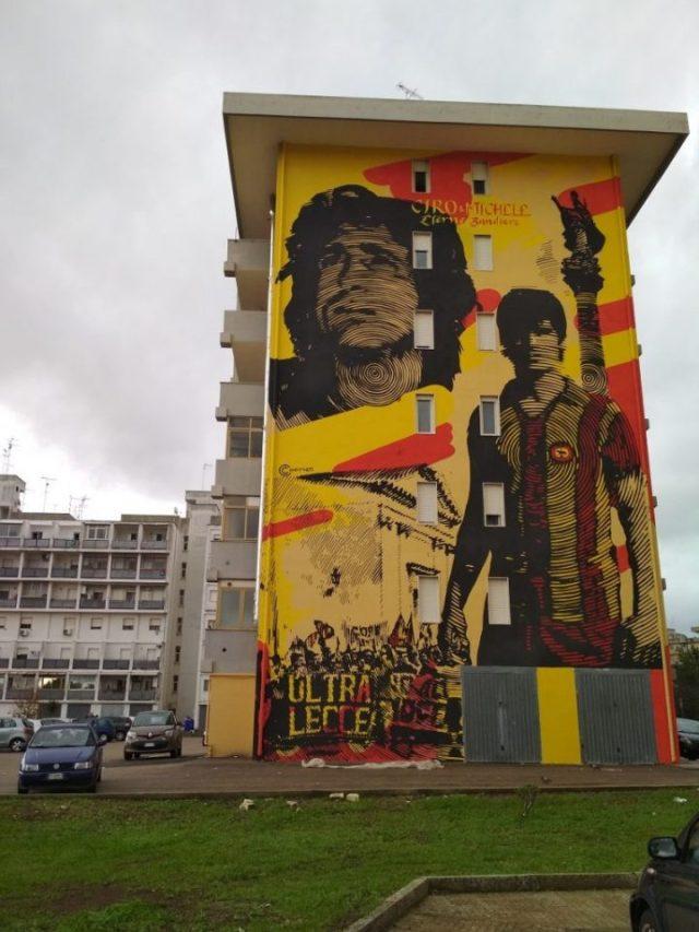 Chekos'art @Lecce, Italy