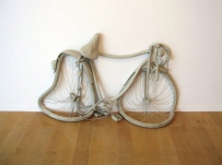 """Bike"" (2011) by Erwin Wurm"