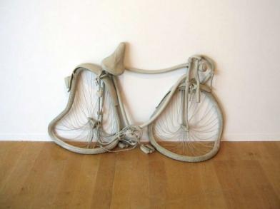 """""""Bike"""" (2011) by Erwin Wurm"""
