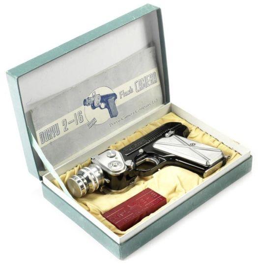 Gadget spia vintage: macchine fotografiche miniaturizzate progettate per agenti segreti