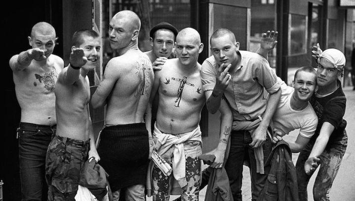 Gli skinhead inglesi negli anni '80