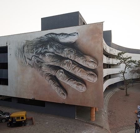Guido van Helten @Goa, India